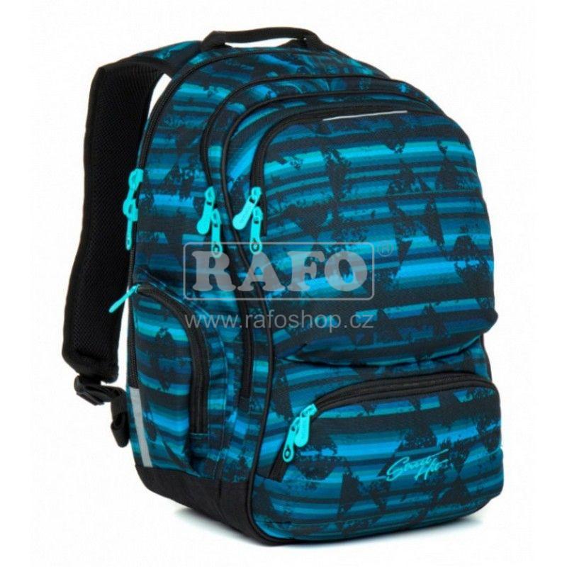 8a3e617349 Studentský batoh Topgal HIT 864 D - Blue