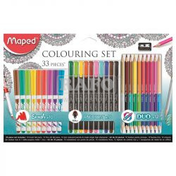 Výtvarná sada Maped Colouring Set, 33ks